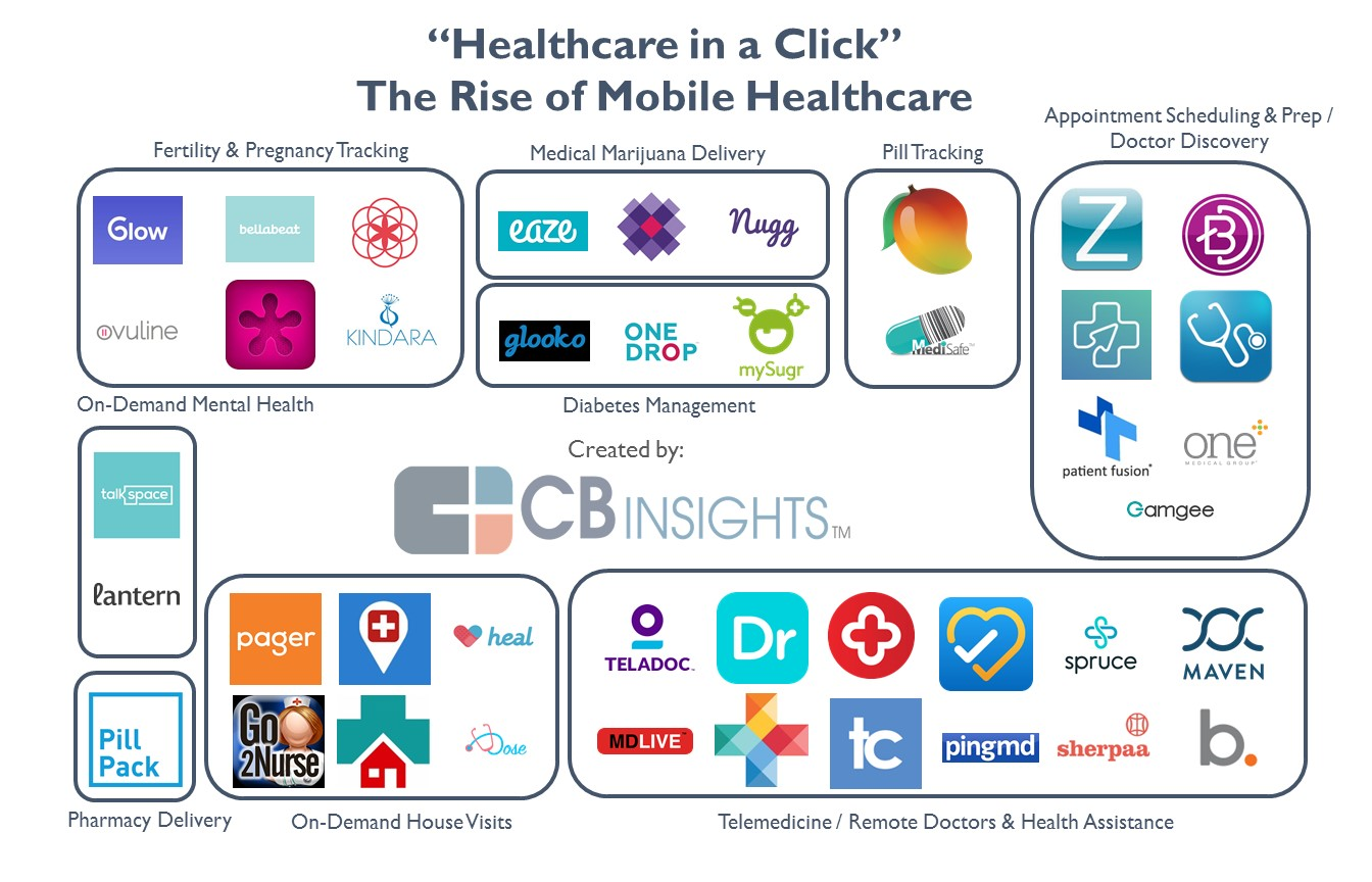 The Anatomy Of Digital Health Startups Disrupting